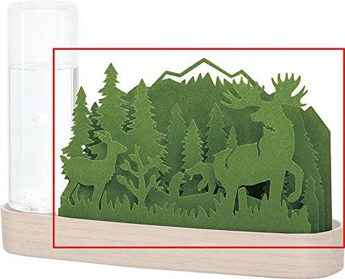 自然気化式加湿器 北欧の森 Forest交換用シート (Green)