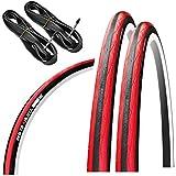 (タイヤ2本+チューブ2個セット)GORIX ゴリックス Gtoair 700×23c ロードタイヤ クリンチャー自転車タイヤ