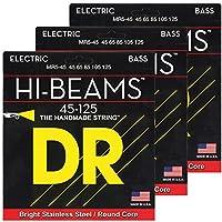 DR ベース弦 5弦 HI-BEAM ステンレスワウンド .045-.125 MR5-45 3SET