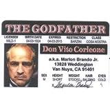 Marlon Brando - Godfather Fun Fake ID License by Signs 4 Fun [並行輸入品]