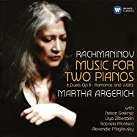 Rachmaninov: Music for Two Pianos by Martha Argerich (2015-02-11)