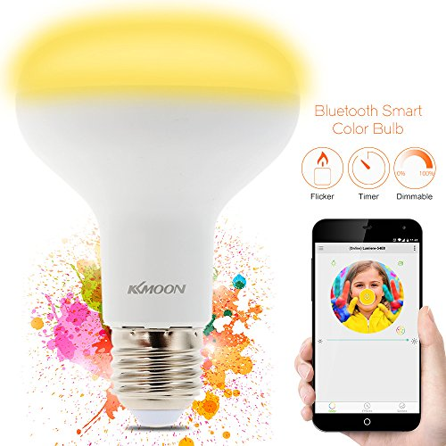 KKmoon E26/E27 Bluetooth LED Bluetooth...