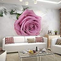 写真の壁紙ヨーロッパスタイルロマンチックな花の3d 壁画の結婚式の部屋の寝室のリビングルームは壁紙3d を印刷しました 幅 250cm * Height175cm A