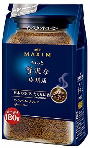 マキシムちょっと贅沢な珈琲店インスタントコーヒー 袋スペシャルブレンド180g