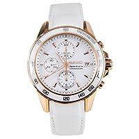 セイコー SEIKO スポーチュラ クロノグラフ 腕時計 SNDX98P1 ホワイト[並行輸入]