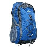 DABADA(ダバダ) バックパック 全7色 リュックサック 35L 登山リュック ザック 防災リュック レインカバー付 (ブルー)