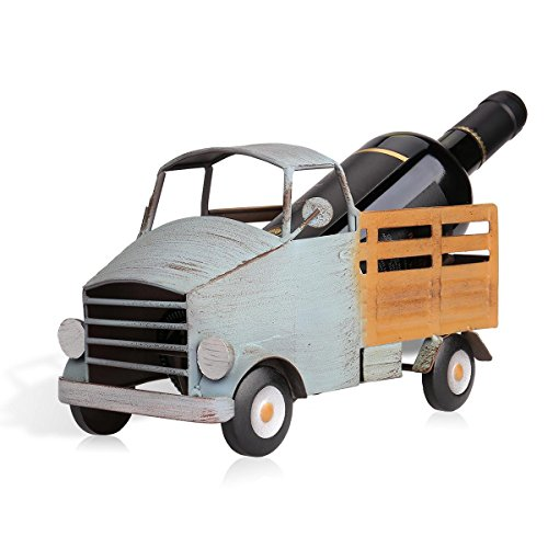 Tooarts 猫の形のワインホルダー ワイン棚 メタル 彫刻 実用的 インテリア 装飾工芸 (3)