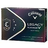 Callaway(キャロウェイ) ゴルフボール(1ダース12個入り) LEGACY PLATINUM 64203511200117 パールホワイト