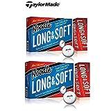 テーラーメイドNoodle Long & Softゴルフボール、15-ballパック One Size