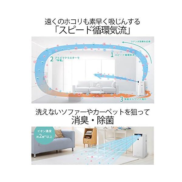 シャープ 加湿 空気清浄機 プラズマクラスター...の紹介画像6