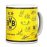 BVB(ドルトムント) オフィシャル マグカップ サインプリント 18-19 18700700