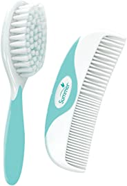 Summer Infant Brush and Comb, Teal/White