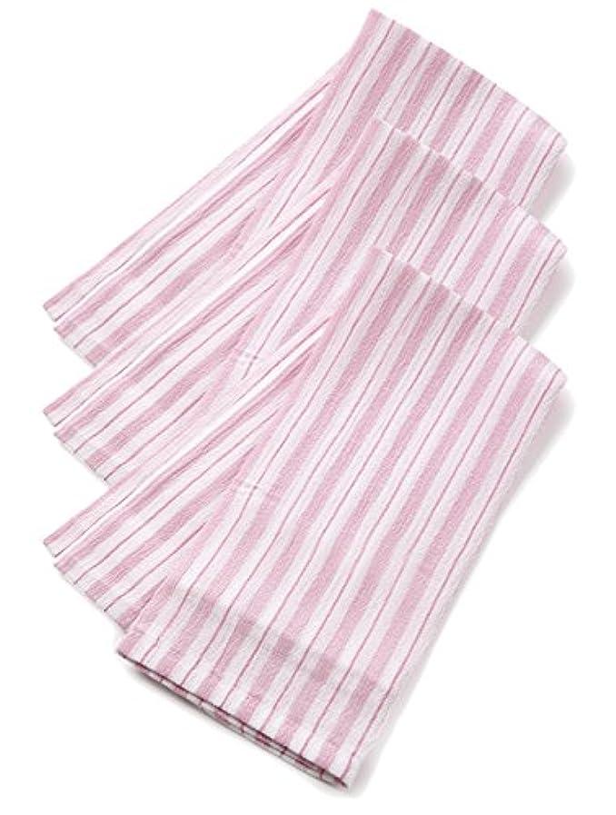 問い合わせ肥沃なパイプくーる&ほっと 昔ながらのレーヨンあかすり 日本製(群馬県で製造) 長尺 3枚組 (ピンク)