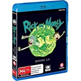 Rick & Morty: Seasons 1-3 [Limited Edition Collector's EditionAll-Region/1080p Blu-ray]