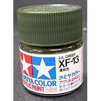 タミヤ?アクリルミニ XF-13 濃緑色