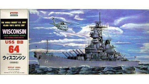 1/600 戦艦 空母 No.14 戦艦 ウイスコンシン