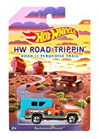 Hot Wheels Road Trippin' Series - Road 14 Turquoise Trail - Backwoods Bomb - 3 of 21 (Orange & Blue Col) by Hot Wheels [並行輸入品]