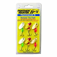 Panther Martin Hammered Spinner Fishing Lure Kit (6-Pack) [並行輸入品]