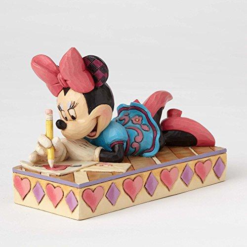 ENESCO(에너지 스코 ) 미니 마우스 Minnie Personality Pose XOXO Minnie 4055438 [병행수입품]