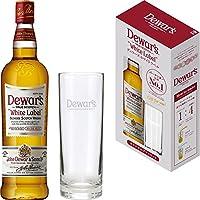 【バーテンダー支持No.1 スコッチウイスキー】デュワーズ ホワイトラベル ロゴ入りグラス付き 700ml