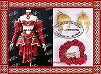 Fate/Grand Order モードレッド Mordred コスプレ衣装 +ウィッグ+髪飾り