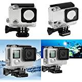 Cewaal 45M Waterproof Housing Underwater Protective Case Cover For GoPro Hero 3+ 4 Accessories