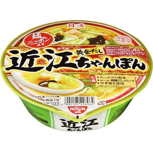 【ケース販売】日清 麺ニッポン 近江ちゃんぽん 111g×12個 フード 穀物・豆・麺類 麺類 [並行輸入品]