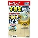 おくだけ吸着 便器すきまテープ(2枚入) 日用品 家庭用品 トイレ用品 [並行輸入品] k1-4973381219063-ah
