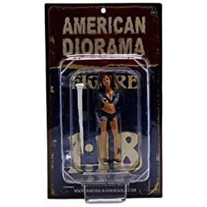 1/18 American Diorama Car Wash Girl - Jessica 女性 洗車ガール フィギュア 模型
