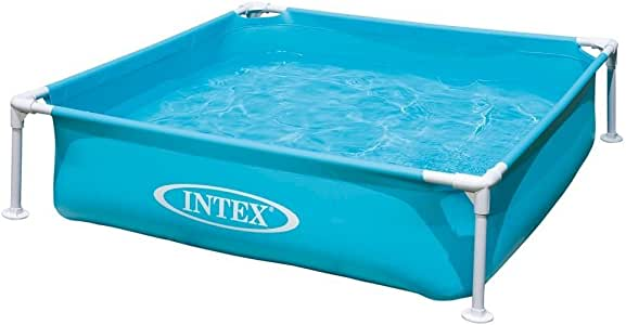 INTEX(インテックス)ミニフレームプール ブルー 122×122×30cm 57173[日本正規品]