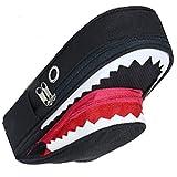 ペンケース サメ 鍵 付 筆箱 学生 かっこいい 大容量 ポーチ ブラック