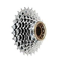 マウンテンバイク21速ロータリーフライホイールシフトタワーホイール7 7速フライホイール 自転車カセット (色 : 銀, サイズ : 7 speed)