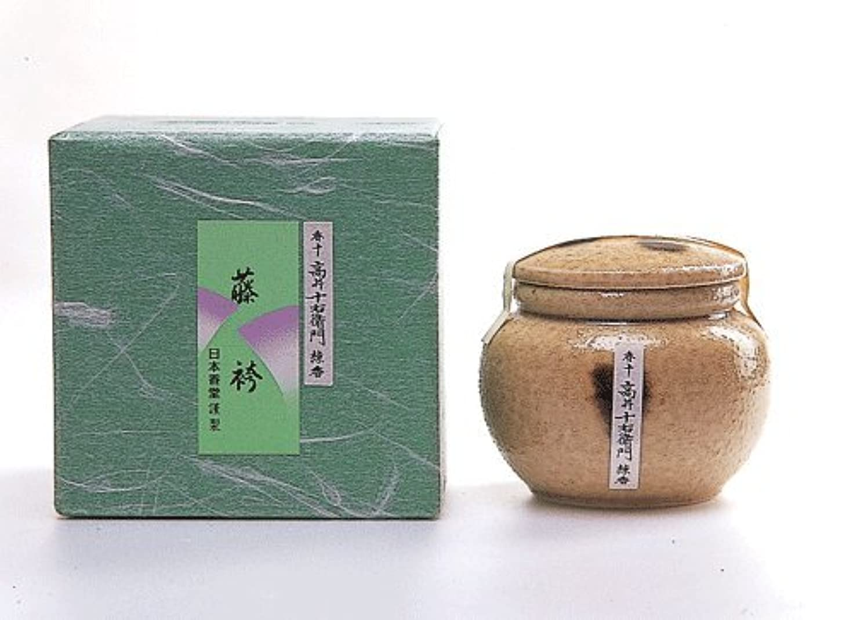 火ジャグリング攻撃的高級感ある香り 香十練香「藤袴」 壷入