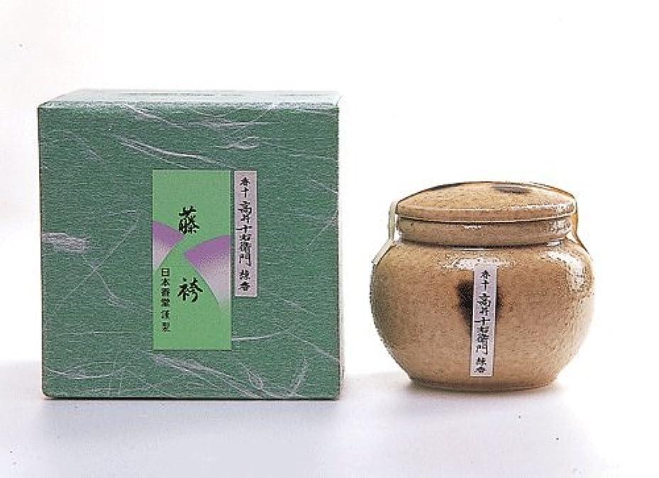 バーベキュー人道的中で高級感ある香り 香十練香「藤袴」 壷入