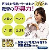 驚異の防臭袋 BOS (ボス) うんちが臭わない袋 ペット用 うんち 処理袋【袋カラー:ブルー】 (Sサイズ 200枚入) 画像