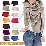 LOUIS VUITTON ルイ・ヴィトン/LOUIS VUITTON モノグラム/ショール ストール スカーフ [並行輸入品]