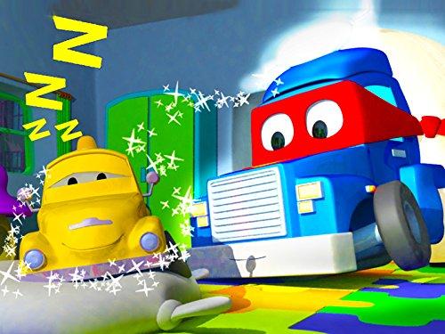 カーシティーのカール・スーパー・トラックとサンドトラック&トランポカール|子供向けトラックアニメ