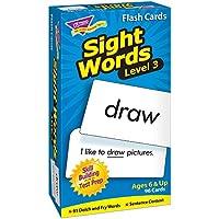 トレンド 英単語 フラッシュカード 目で見て学ぶことば レベル3 Trend Flash Cards Sight Words Level 3 T-53019