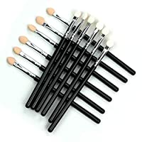 2 color Sponge Stick Eye Shadow Makeup Brushes Synthetic Fiber Handle Eyes High Light Makeup Brush Cosmetic Tool