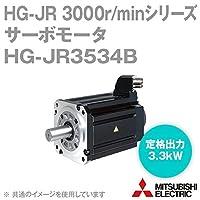 三菱電機 HG-JR3534B サーボモータ HG-JR 3000r/minシリーズ 400Vクラス 電磁ブレーキ付 (低慣性・中容量) (定格出力容量 3.3kW) NN