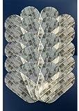 アウトドア用品 【ノーブランド品】 アブトロ互換 腹部用 交換ジェルシート 20枚入り