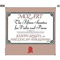 モーツァルト : ヴァイオリン・ソナタ集 I (Mozart : The Fifteen Sonatas for Violin and Piano Vol.I / Joseph Szigeti (violin) | Mieczyslaw Horszowski (piano)) [2XRCD]