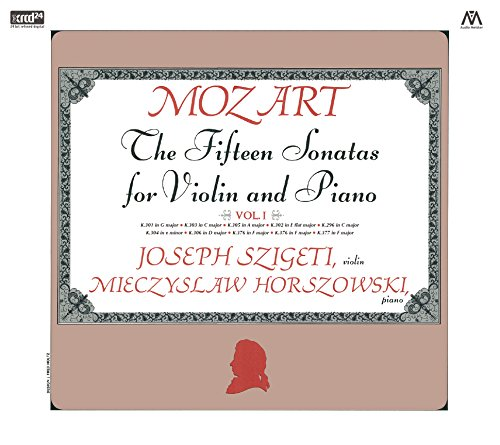 モーツァルト : ヴァイオリン・ソナタ集 I (Mozart : The Fifteen Sonatas for Violin and Piano Vol.I / Joseph Szigeti (violin) | Mieczyslaw Horszowski (piano)) [2XRCD]
