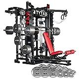 tytax t1-x究極ホームマルチジムマシンフィットネス機器Bestフリー重量Pro Workout Exerciseベンチ
