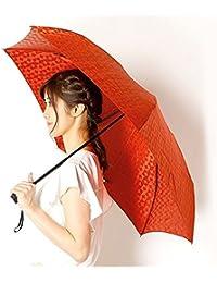 ビバユー(雑貨)(VIVA YOU) 雨傘(折りたたみ傘/3段/ミニ傘)ジャカード/幾何柄(婦人/レディース)