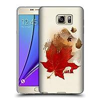 オフィシャル Robert Farkas オータム・リーフ ランドスケープ Samsung Galaxy Note5 / Note 5 専用ソフトジェルケース