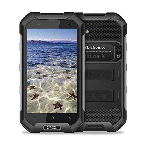 Blackview BV6000防水スマートフォンIP68ゴリラガラス3耐衝撃防塵Android 6.0 3GB RAM 32GB ROM 4.7インチ屋外モバイル携帯電話Green by Blackview (黒)