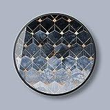 DUOLUO ファッション味北欧のアートウォールクロック現代的なミニマリストの雰囲気のクリエイティブミュートサイレントクォーツ時計O67 (Size : 14A)