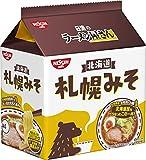 日清のラーメン屋さん 札幌みそ 5食パック 440g×6袋