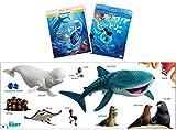 【Amazon.co.jp限定】 ファインディング・ドリー MovieNEXプラス3D:オンライン予約限定商品 [ブルーレイ3D+ブルーレイ+DVD+デジタルコピー(クラウド対応)+MovieNEXワールド](オリジナルワイドポスター付) [Blu-ray]